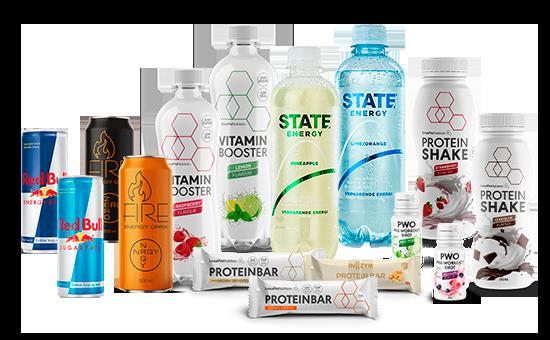 produkter der kan trækkes i FitnessX