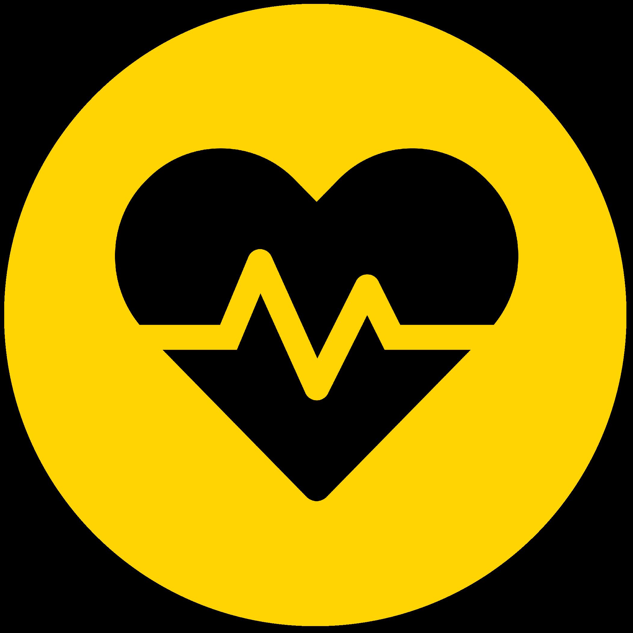Ikon med hjerterytme